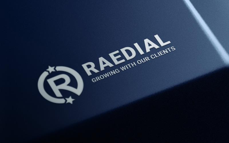 Raedial R Logo Vorlage