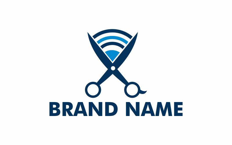 Signalschere Logo Vorlage