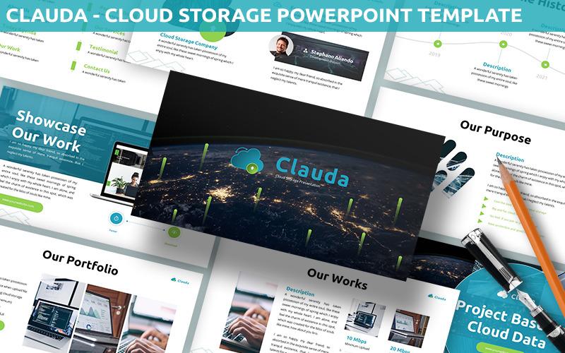 Clauda - Cloud-Speicher-Powerpoint