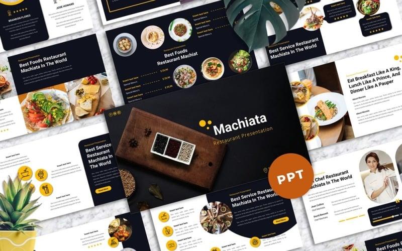 Machiata - Restaurang Powerpoint