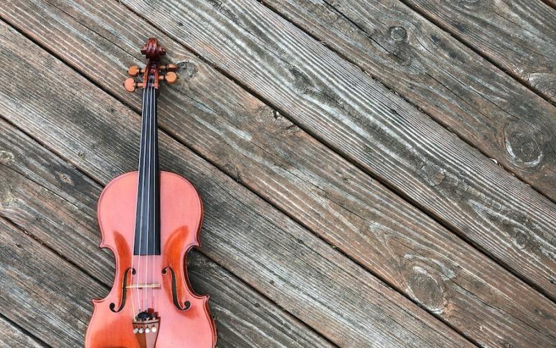 Optimistische Violine - Audiospur