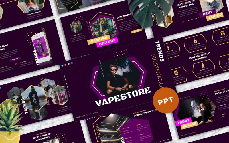 Vapestore - Vape & Vapor Powerpoint