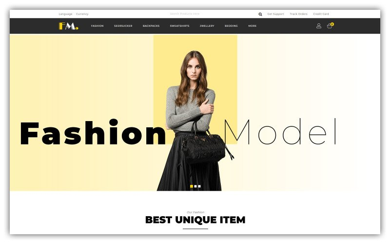 FModel - Fashion Store OpenCart Vorlage
