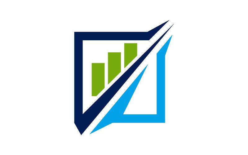 Logo-Vorlage für Business Increase Solution Service