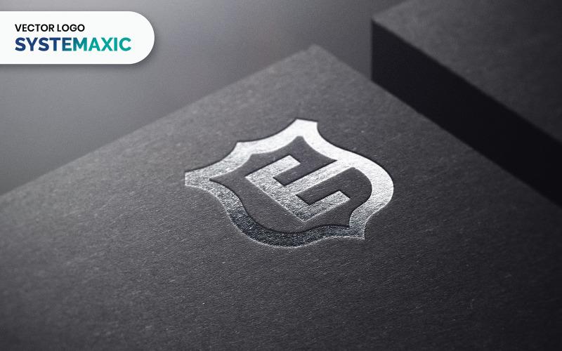 Systematische Logo-Vorlage