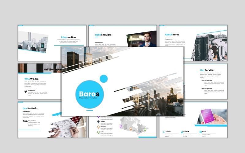 Baros - Creative Business PowerPoint-Vorlage