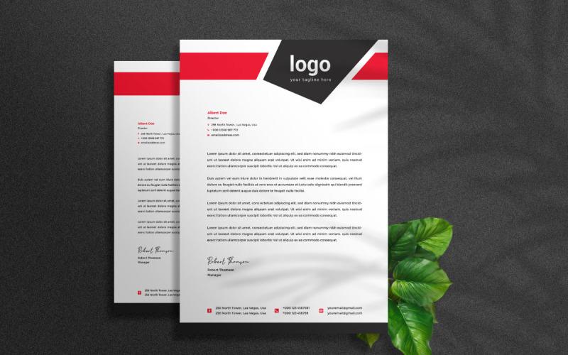 Business Briefkopf - Corporate Identity Vorlage
