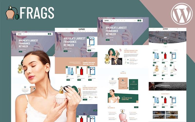 Fragz | Tema WooCommerce del negozio di profumi e cosmetici