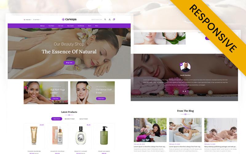 CareSpa - Natural Spa Store Opencart Responsive Theme