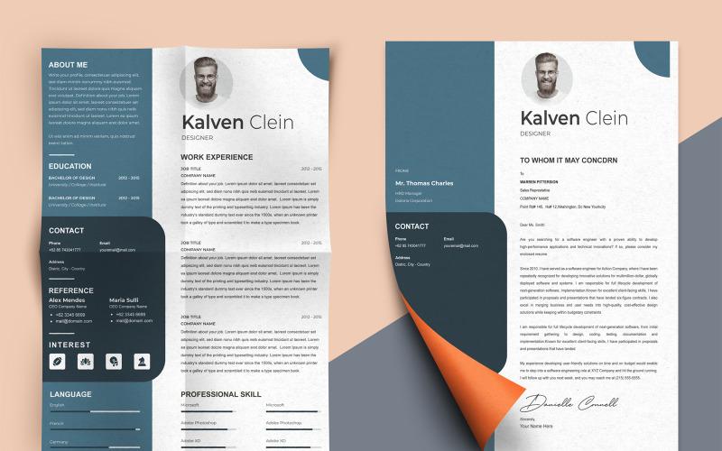 Kalven Clein - Web Designer Resume Templates