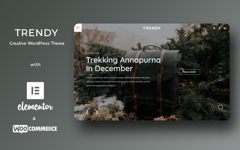 Trendy - Tema WordPress di moda creativa