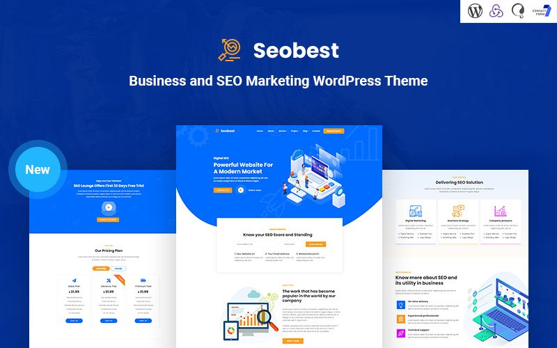 Seobest - SEO Marketing WordPress Theme