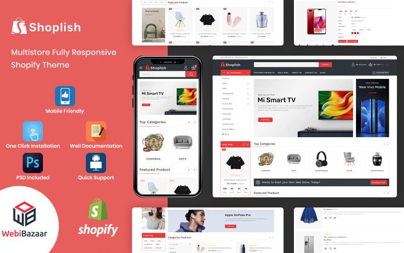 Shoplish - Multipurpose Supermarket Shopify Theme