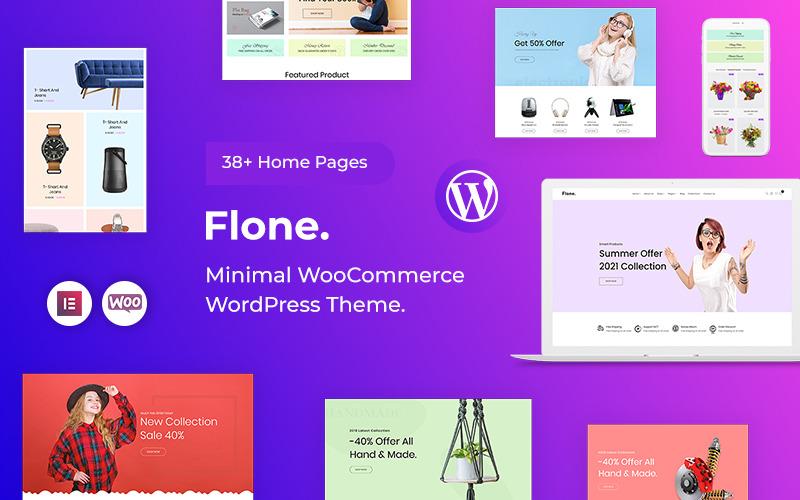 Flone - минималистичная тема WooCommerce