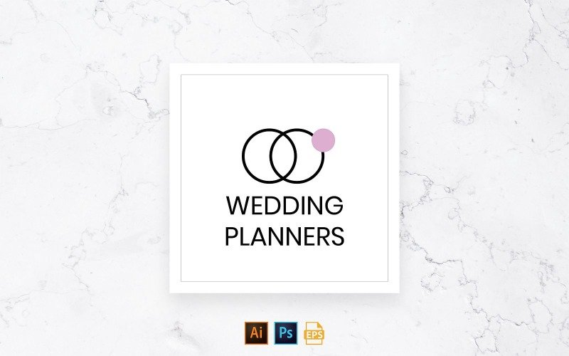 Ready-to-Use Wedding Planner Logo Template