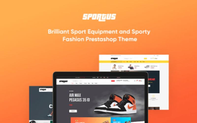 TMFitclub Spor Ekipmanları Prestashop Teması
