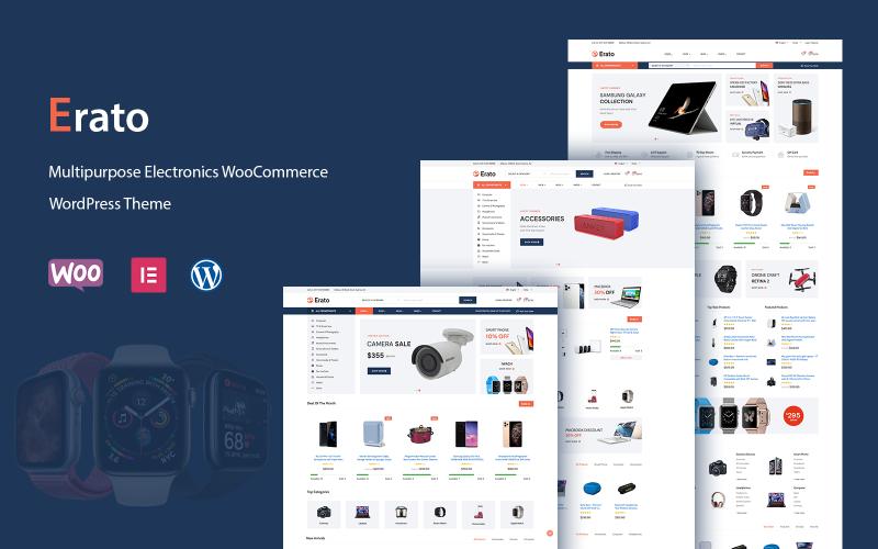Erato - багатофункціональна тема WordPress WooCommerce Electronics