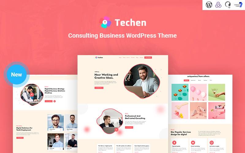 Techen - Consulting Business Responsive WordPress Theme