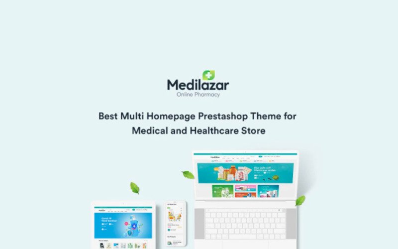 TM Medilazar Medical And Healthcare Prestashop Theme