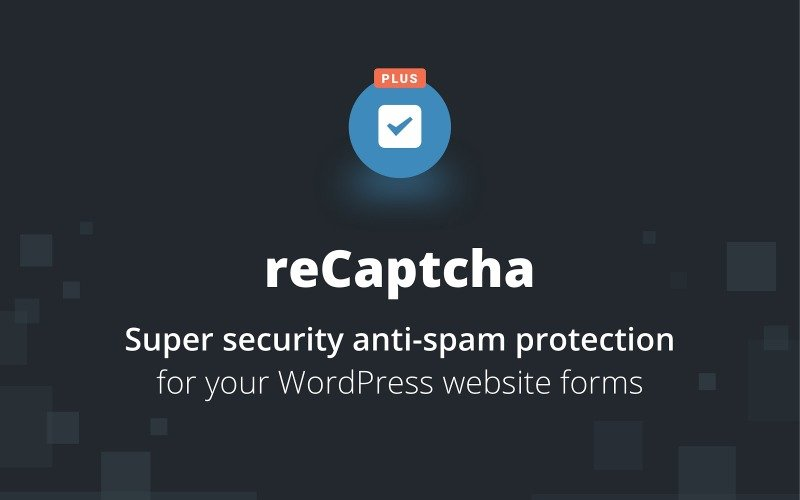 Wtyczka reCaptcha Plus WordPress