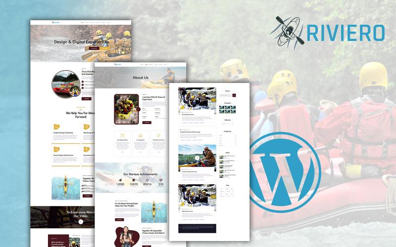 Riviero - Rafting WordPress Theme