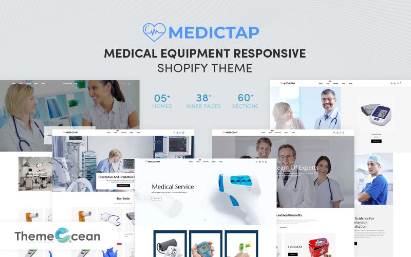 Medictap - Responsive Shopify-Thema für medizinische Geräte