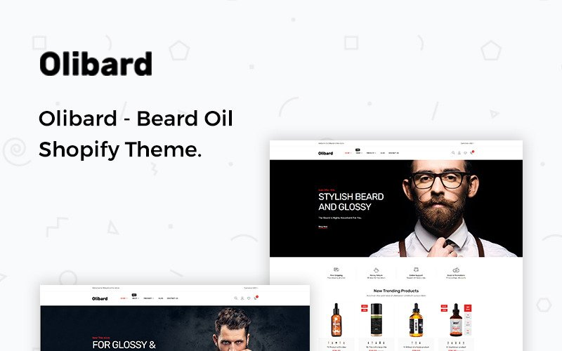 Olibard - Beard Oil Shopify Theme