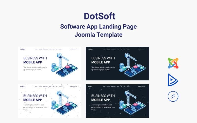 DotSoft - Software App Landing Page Joomla Template