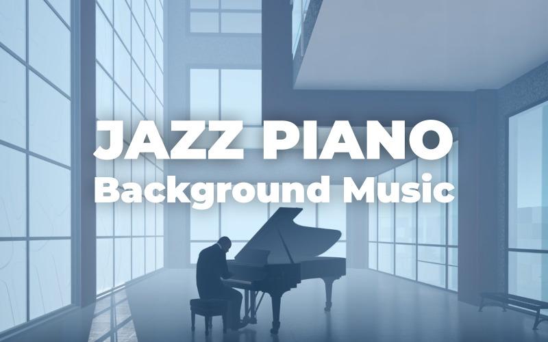 爵士钢琴酒吧-股票音乐