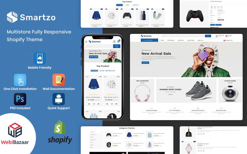 Smartzo - Modèle Shopify Premium
