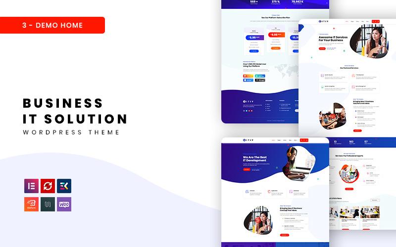 Eitiy - Business IT Solution WordPress Theme