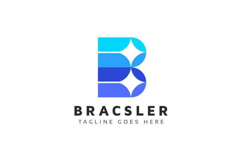 Bracsler B Letter Logo