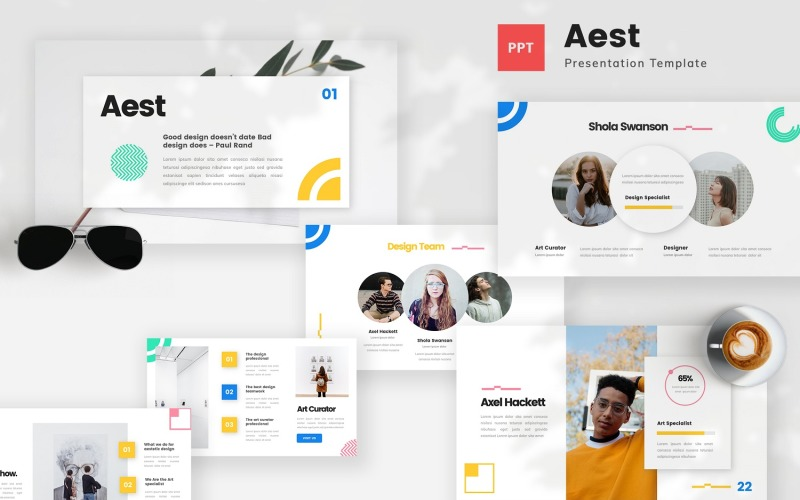 Aest - Aesthetic Powerpoint Template