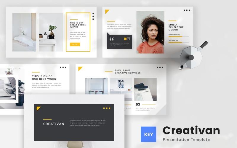 Creativan - Creative Business Keynote Template