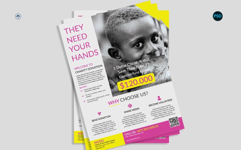 Charity Donation Flyer V1