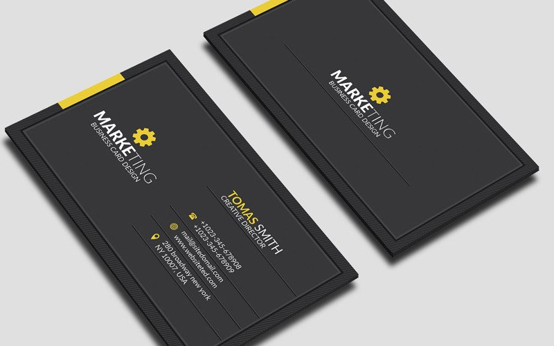 Tomas Smith - Corporate Business Card