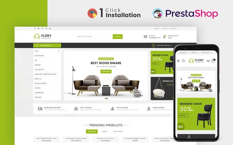 Flory Furniture Store Prestashop Theme