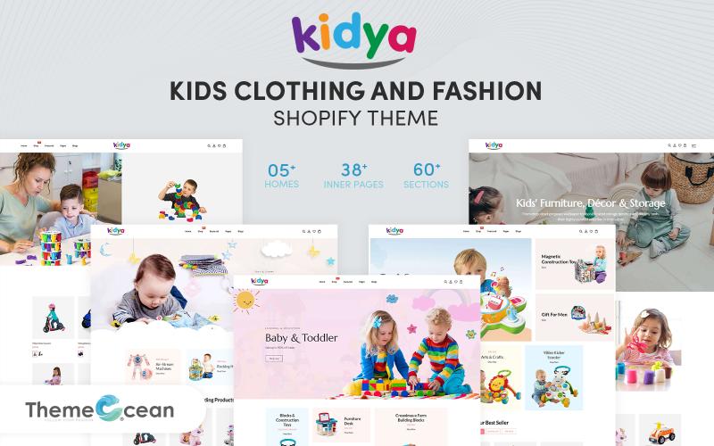 Kidya - Shopify Тема для детской одежды и моды