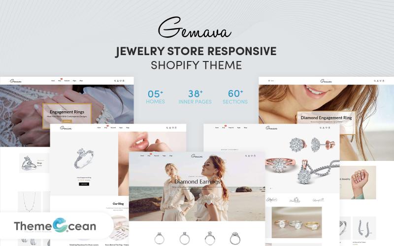 Gemava - Jewelry Store Responsive Shopify Theme