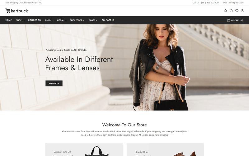 Kartbuck - Fashion WooCommerce Theme