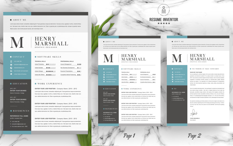 Henry Printable Resume Templates