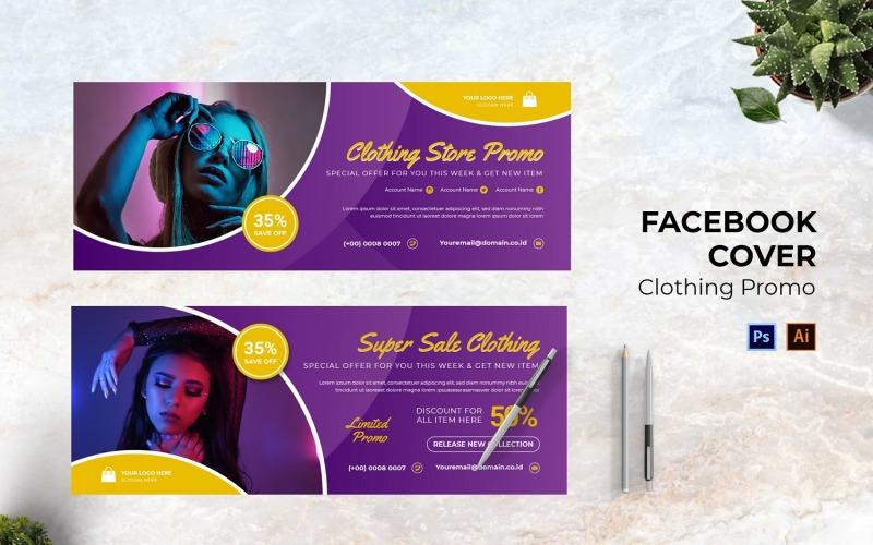 Clothing Promo Facebook Cover Social Media