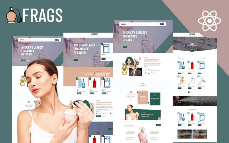 Fragz | Perfume & Fragrance Shop Website React Template