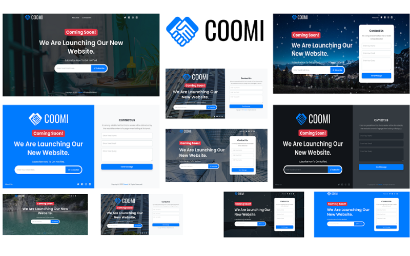 Coomi - Coming Soon HTML5 Template