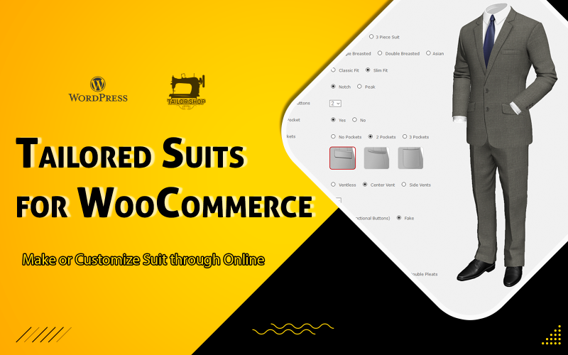 WooCommerce Tailored Suits - WordPress Plugin