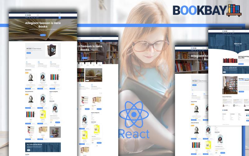Bookbay - Book Shop React Website Template