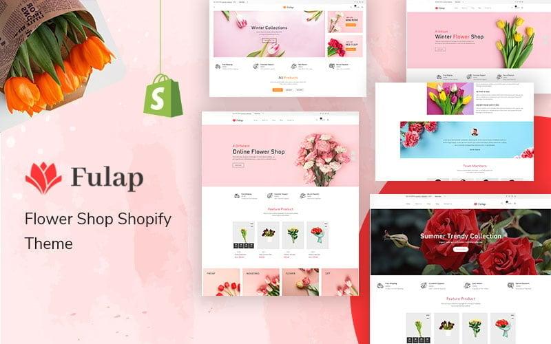 Fulap - Flower Shop Shopify Theme