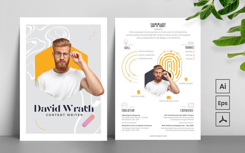 Quality Minimal CV Printable Resume Templates