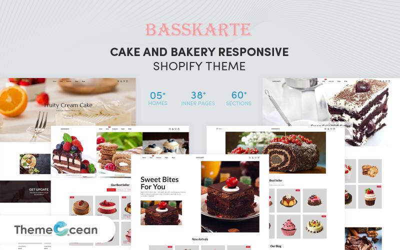 Basskarte - Cake & Bakery Responsive Shopify Theme