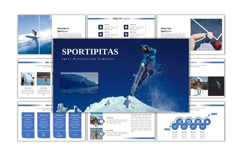 Sportipitas - Creative Sport Powerpoint Template
